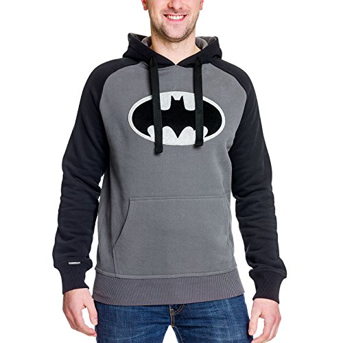 Batman sudadera negra logotipo sudadera de Elbenwald...
