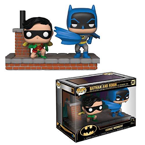 Funko- Pop Vinyl: Comic Moment 80th: Look Batman and Robin...