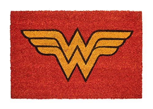 Felpudo Wonder Woman - Felpudo entrada casa antideslizante...