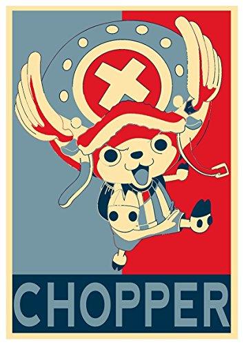 Instabuy Poster One Piece Propaganda Chopper - A3 (42x30 cm)