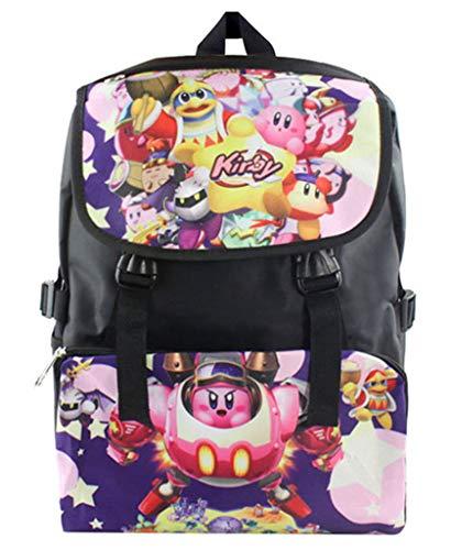 WANHONGYUE Kirby Juego Bolso de Escuela Mochila de...
