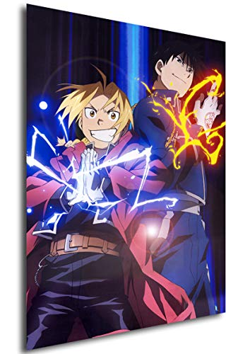 Instabuy Posters Full Metal Alchemist (A) and Roy Edward -...