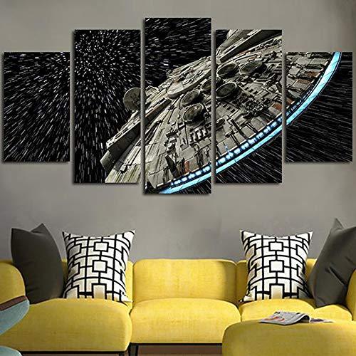XLST Decoración de la Pared Imagen de Lienzo Star Wars...