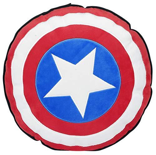 Marvel Cojín Capitán América Shield Negro