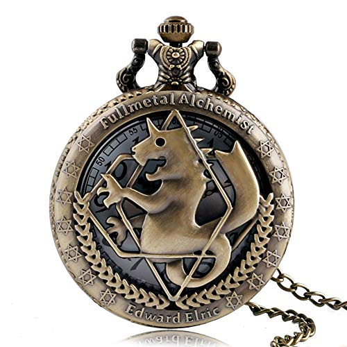Fullmetal Alchemist - Reloj de bolsillo retro, Fullmetal...