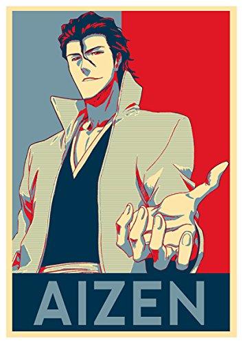 Instabuy Posters Bleach Propaganda Aizen - A3 (42x30 cm)