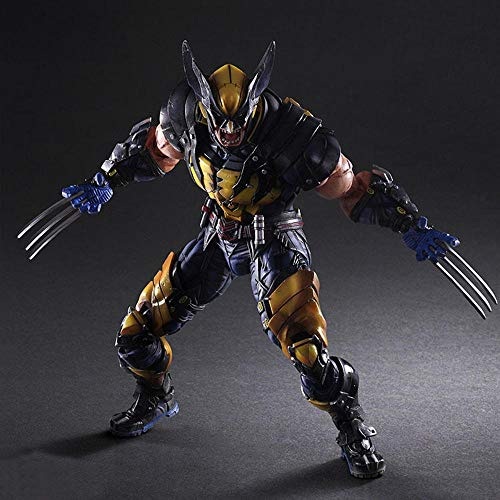 Action Figure X-Men PA Change Wolverine James Howlett...