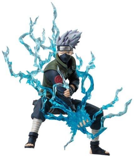 Bandai - Figurine Naruto - Kakashi 15cm Figuarts -...