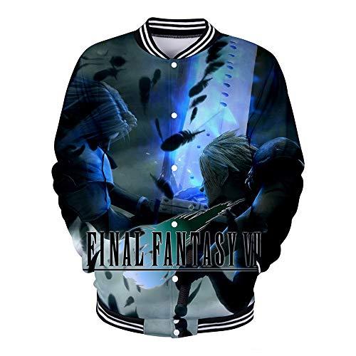 BIUBIUCLA Final Fantasy Pullover Chaqueta Sudadera Casual...