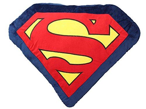 SD toys Superman Cojín, Acrílico, Multicolor, 60 x 47 x 8...