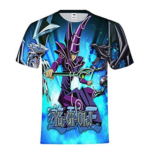 Yu-Gi-Oh Camisetas Remeras Cómoda Superior Personalidad...