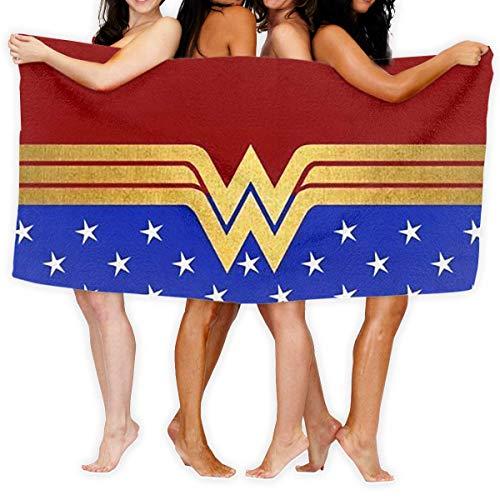 FSTGF Toallas de Playa, 2 Toallas de baño Wonder Woman de...