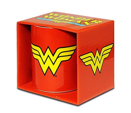 Logoshirt Wonder Woman Taza de Cafe - DC Comics Taza -...
