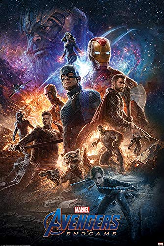 Close Up Póster Marvel Avengers: End Game - from The Ashes...
