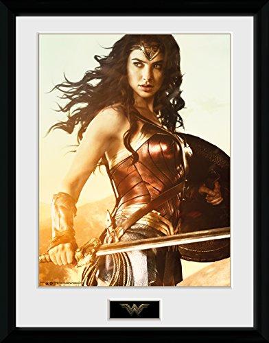 GB eye LTD, Wonder Woman, Espada, Fotografía enmarcada...