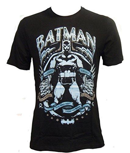Batman - Camiseta para hombre, talla grande, color negro