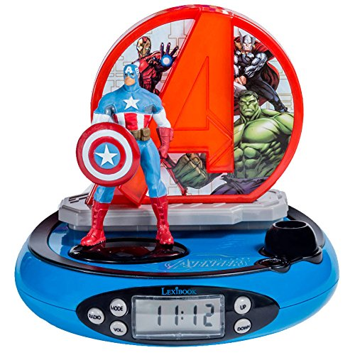 Marvel RP500AV Marvel Radio Despertador con Proyección de...