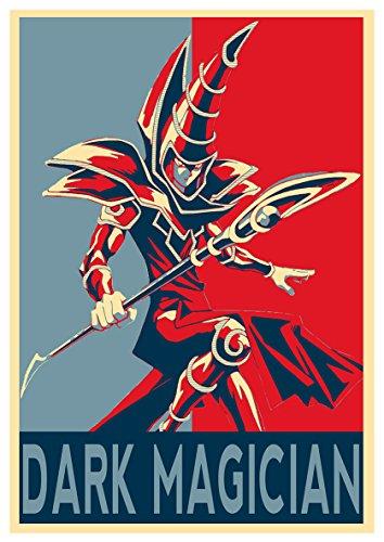 Instabuy Posters Yu-Gi-Oh Propaganda Black Mage - A3 (42x30...