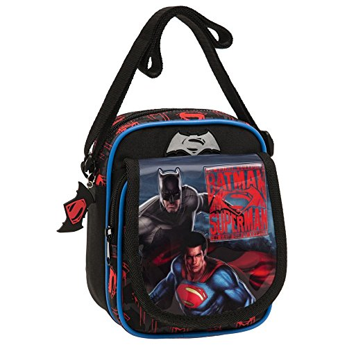 Warner Superman-Batman Bolso Bandolera, 2.85 litros, Color...