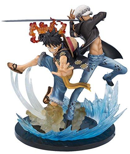 Ban Dai - Figura de acción Monkey.D.Luffy and Trafalgar de...