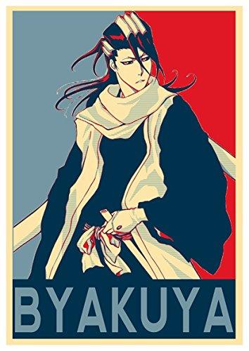 Instabuy Posters Bleach Propaganda Byakuya - A3 (42x30 cm)