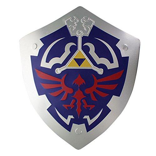 La Leyenda de Zelda Hylian Shield Metal Wall Art, Multi,...