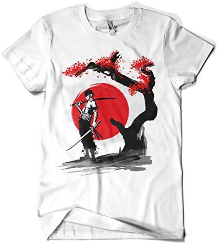 4395-Camiseta Premium, Swordsman Pirate (ddjvigo)