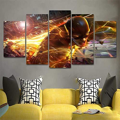 Mxsnow 5 Cuadro sobre Lienzo Marco HD Canvas Picture Home...