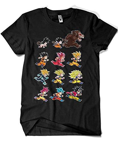 4003-Camiseta Premium, Dragon Ball-Evolutions of...