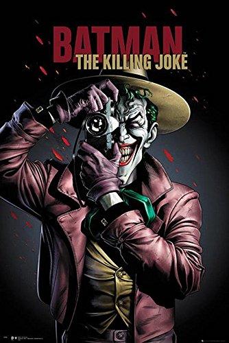 Póster Batman The Killing Joke/ Portada de la película de...