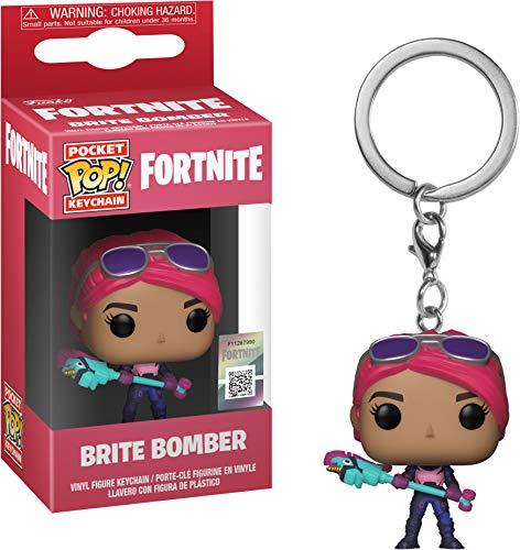 Fortnite - Funko Llavero con Anilla Brite Bomber Pocket Pop!...