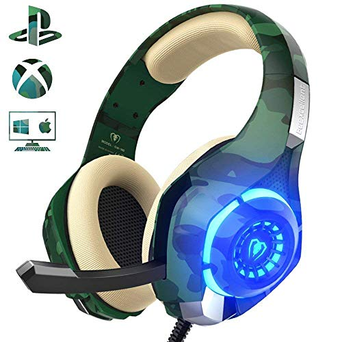 Auriculares Gaming para PS4 Xbox One Nintendo Switch, GM-100...