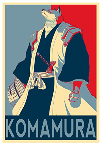 Instabuy Posters Bleach Propaganda Komamura - A3 (42x30 cm)