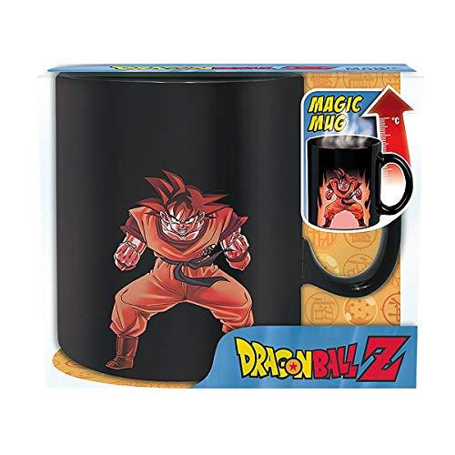 ABYstyle - DRAGON BALL - taza effecto termico- 460 ml - Goku
