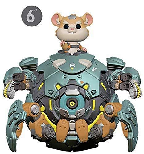 Funko- Pop Vinilo: Overwatch S5: 6' Wrecking Ball Figura...
