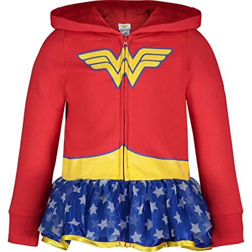 Wonder Woman Sudadera con Capucha Para Niñas Traje Ligero...