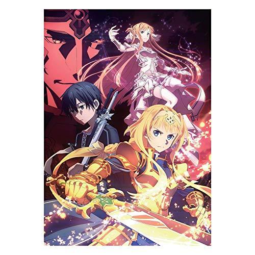 ALTcompluser Anime Sword Art Online Season 3 SAO Póster...