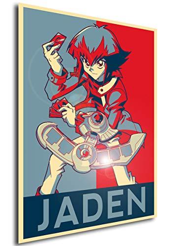 Instabuy Poster - Propaganda - Yu-Gi-Oh! - Jaden Yuki A4...