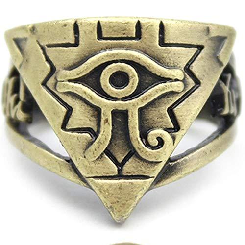 WGY Anillos Fullmetal Alchemist Finger Finger Pearl...