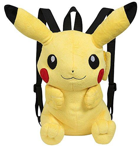Famosa Softies - Pokèmon Mochila, peluche Pikachu, 30 cm,...