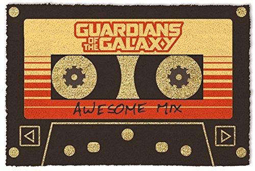 1art1 Guardianes De La Galaxia - Vol. 2, Awesome Mix Felpudo...