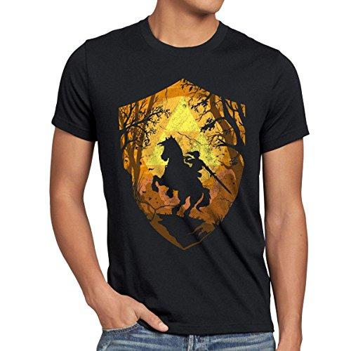 style3 Ride Through Hyrule Camiseta para Hombre T-Shirt,...