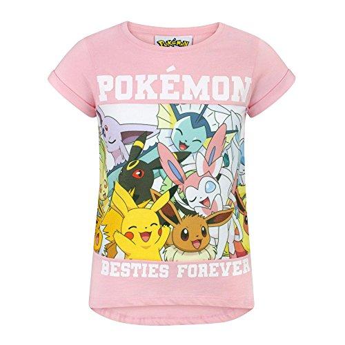 Pokèmon Besties Forever Girl'S T-Shirt (13-14 Years)