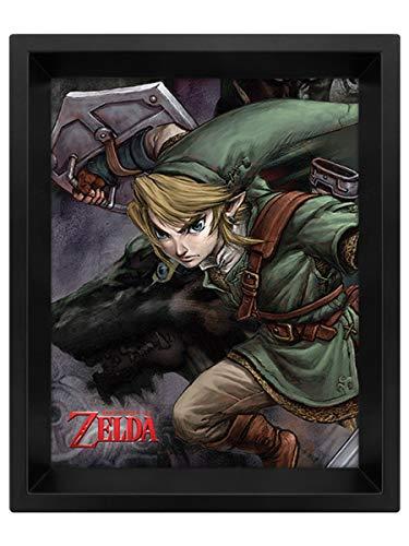 The Legend Of Zelda - Poster 3D Zelda Twlight Link