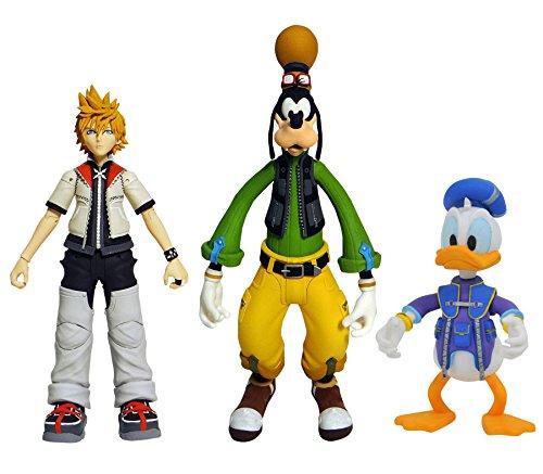 Kingdom Hearts- Goofy/Roxas/Dona Figura de acción,...