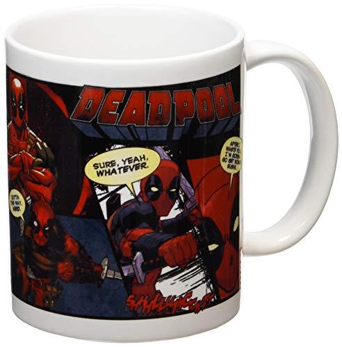 GB eye Taza Deadpool cómic, cerámica, Multicolor,...
