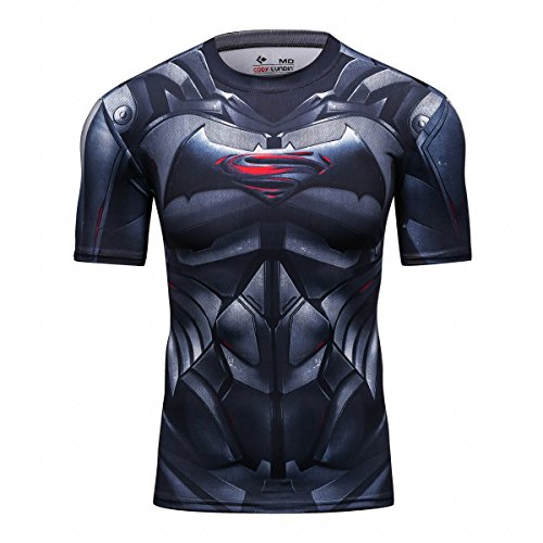 Cody Lundin - Camiseta de fitness de manga corta para...