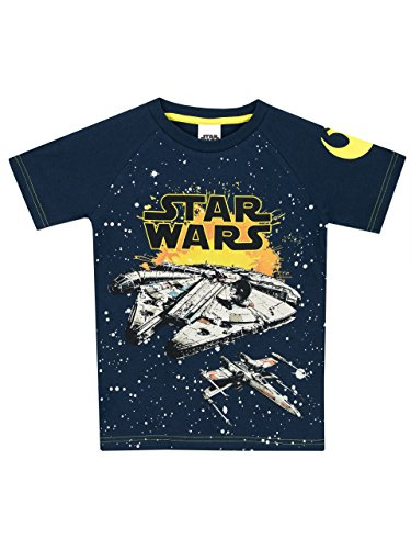 Star Wars - Camiseta para niño Halcón Milenario - 13-14...