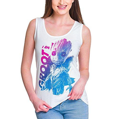 Guardianes de la Galaxia camiseta de tirantes de chica Groot...