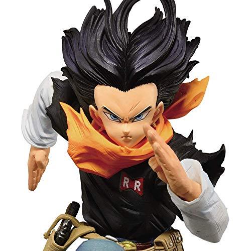 Banpresto Dragon Ball Z Android 17 BWFC World Figure...